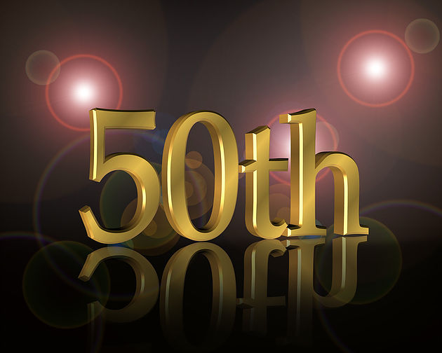 Old 50 years Turning 50?